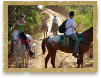 Image of Horseback riders
